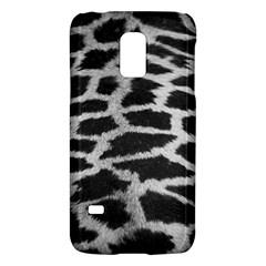 Black And White Giraffe Skin Pattern Galaxy S5 Mini