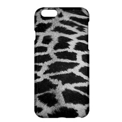 Black And White Giraffe Skin Pattern Apple Iphone 6 Plus/6s Plus Hardshell Case