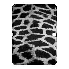 Black And White Giraffe Skin Pattern Samsung Galaxy Tab 4 (10.1 ) Hardshell Case