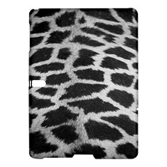 Black And White Giraffe Skin Pattern Samsung Galaxy Tab S (10 5 ) Hardshell Case