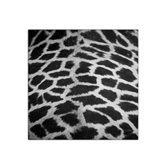 Black And White Giraffe Skin Pattern Satin Bandana Scarf