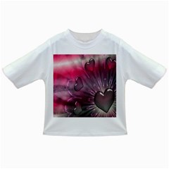 Love Hearth Background Wallpaper Infant/toddler T Shirts