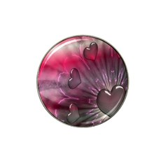 Love Hearth Background Wallpaper Hat Clip Ball Marker (10 pack)