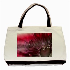 Love Hearth Background Wallpaper Basic Tote Bag