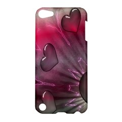Love Hearth Background Wallpaper Apple iPod Touch 5 Hardshell Case
