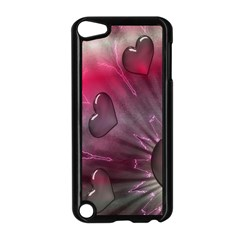 Love Hearth Background Wallpaper Apple Ipod Touch 5 Case (black)