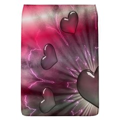 Love Hearth Background Wallpaper Flap Covers (L)