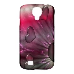 Love Hearth Background Wallpaper Samsung Galaxy S4 Classic Hardshell Case (pc+silicone)