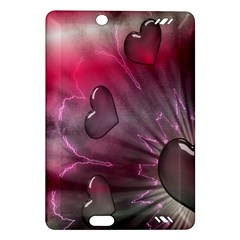 Love Hearth Background Wallpaper Amazon Kindle Fire Hd (2013) Hardshell Case