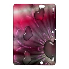 Love Hearth Background Wallpaper Kindle Fire Hdx 8 9  Hardshell Case