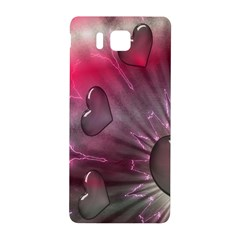 Love Hearth Background Wallpaper Samsung Galaxy Alpha Hardshell Back Case