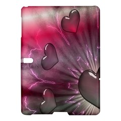 Love Hearth Background Wallpaper Samsung Galaxy Tab S (10.5 ) Hardshell Case