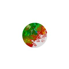 Digitally Painted Messy Paint Background Textur 1  Mini Magnets