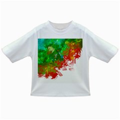 Digitally Painted Messy Paint Background Textur Infant/toddler T Shirts