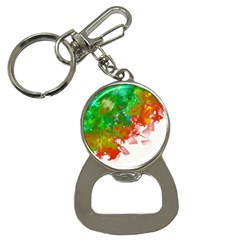 Digitally Painted Messy Paint Background Textur Button Necklaces