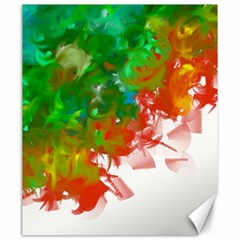 Digitally Painted Messy Paint Background Textur Canvas 20  x 24