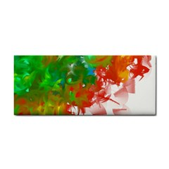 Digitally Painted Messy Paint Background Textur Cosmetic Storage Cases