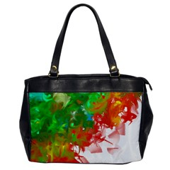 Digitally Painted Messy Paint Background Textur Office Handbags