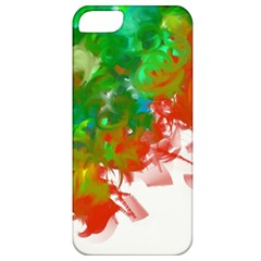 Digitally Painted Messy Paint Background Textur Apple Iphone 5 Classic Hardshell Case