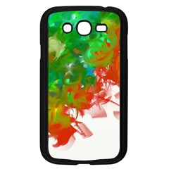 Digitally Painted Messy Paint Background Textur Samsung Galaxy Grand DUOS I9082 Case (Black)