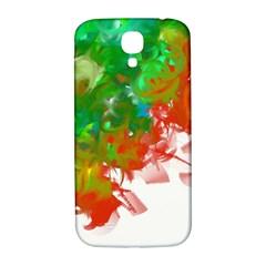 Digitally Painted Messy Paint Background Textur Samsung Galaxy S4 I9500/I9505  Hardshell Back Case