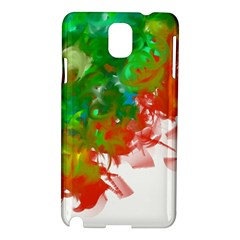 Digitally Painted Messy Paint Background Textur Samsung Galaxy Note 3 N9005 Hardshell Case