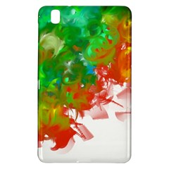 Digitally Painted Messy Paint Background Textur Samsung Galaxy Tab Pro 8.4 Hardshell Case