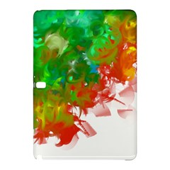 Digitally Painted Messy Paint Background Textur Samsung Galaxy Tab Pro 12 2 Hardshell Case