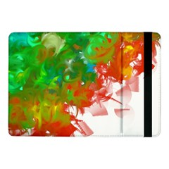 Digitally Painted Messy Paint Background Textur Samsung Galaxy Tab Pro 10.1  Flip Case