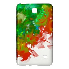 Digitally Painted Messy Paint Background Textur Samsung Galaxy Tab 4 (8 ) Hardshell Case