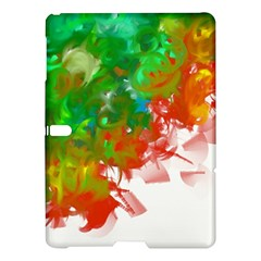 Digitally Painted Messy Paint Background Textur Samsung Galaxy Tab S (10.5 ) Hardshell Case