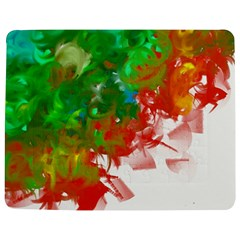 Digitally Painted Messy Paint Background Textur Jigsaw Puzzle Photo Stand (Rectangular)