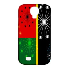 Snowflake Background Digitally Created Pattern Samsung Galaxy S4 Classic Hardshell Case (pc+silicone)