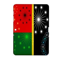 Snowflake Background Digitally Created Pattern Samsung Galaxy Tab 2 (10 1 ) P5100 Hardshell Case