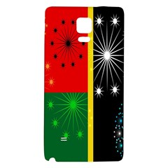 Snowflake Background Digitally Created Pattern Galaxy Note 4 Back Case