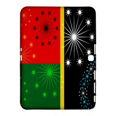 Snowflake Background Digitally Created Pattern Samsung Galaxy Tab 4 (10.1 ) Hardshell Case