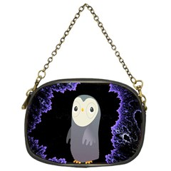 Fractal Image With Penguin Drawing Chain Purses (One Side)