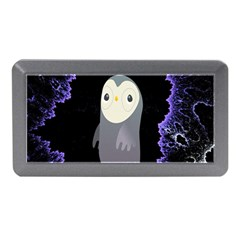 Fractal Image With Penguin Drawing Memory Card Reader (Mini)