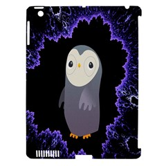 Fractal Image With Penguin Drawing Apple iPad 3/4 Hardshell Case (Compatible with Smart Cover)