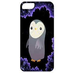 Fractal Image With Penguin Drawing Apple Iphone 5 Classic Hardshell Case