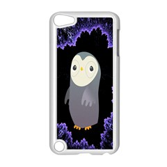Fractal Image With Penguin Drawing Apple Ipod Touch 5 Case (white)