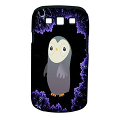 Fractal Image With Penguin Drawing Samsung Galaxy S Iii Classic Hardshell Case (pc+silicone)