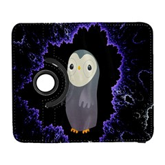 Fractal Image With Penguin Drawing Galaxy S3 (flip/folio)