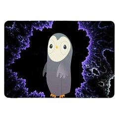 Fractal Image With Penguin Drawing Samsung Galaxy Tab 8 9  P7300 Flip Case