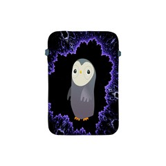 Fractal Image With Penguin Drawing Apple Ipad Mini Protective Soft Cases