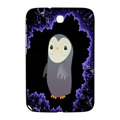 Fractal Image With Penguin Drawing Samsung Galaxy Note 8 0 N5100 Hardshell Case