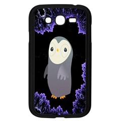 Fractal Image With Penguin Drawing Samsung Galaxy Grand DUOS I9082 Case (Black)