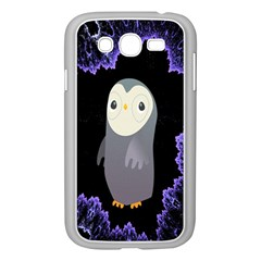 Fractal Image With Penguin Drawing Samsung Galaxy Grand DUOS I9082 Case (White)
