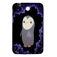Fractal Image With Penguin Drawing Samsung Galaxy Tab 3 (7 ) P3200 Hardshell Case