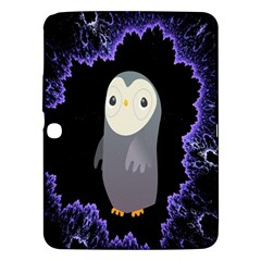 Fractal Image With Penguin Drawing Samsung Galaxy Tab 3 (10 1 ) P5200 Hardshell Case